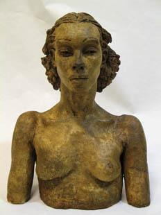 Sir Jacob Epstein, Portrait of Pola Givenchy, 1937.