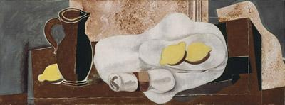 Georges Braque, Lemons and Napkin Ring, 1928.