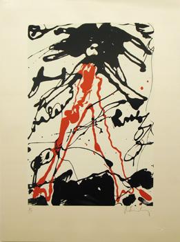 Claes Oldenburg, Striding Figure, 1971.